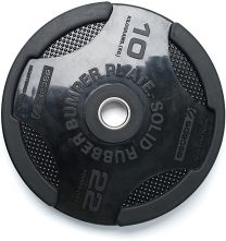 10KG ESCAPE RUBBER CROSS TRAINING BUMPER PLATE