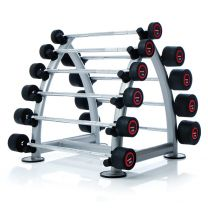 2 TIER OVAL DUMBBELL RACK 150