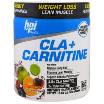 BPI SPORTS - CLA + CARNITINE - FRUIT PUNCH - 50 SERVINGS