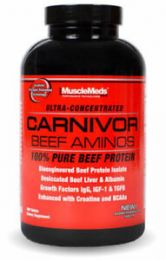 MUSCLE MEDS CARNIVOR AMINO BEEF - 300 TAB