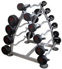 FITNESS CURL BARBELLS
