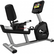 Life Fitness Recumbent Bike with Discover ST Console