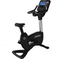 Life Fitness Platinum Club Series Upright Bike Premium color & Discover SE3HD Console with Combo DVB-T2, Wireless, RFID