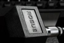 ROGUE RUBBER HEX DUMBBELL - PAIR