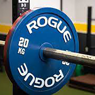 Weight Lifting, Bars And Plates